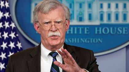 John Bolton, asesor de seguridadnacional (Reuters)