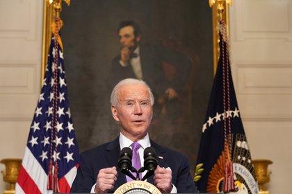 El presidente de los Estados Unidos, Joe Biden (REUTERS/Kevin Lamarque)
