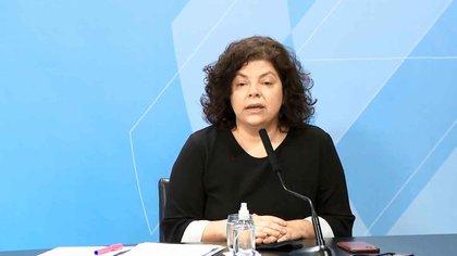 Carla Visotti, Secretaria de Acceso a la Salud