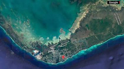 Una captura de la isla antes de la llegada de Dorian(Foto: Google Maps)