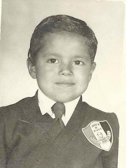 Desde muy chico, Alfredo se destacó por su inteligencia. (Gentileza clínica Mayo)
