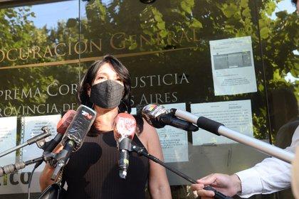 La fiscal María Eugenia Di Lorenzo