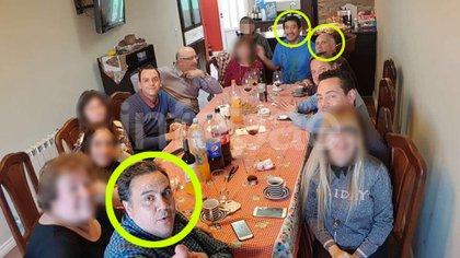 El abogado de los Zaeta, Muriete, en primer plano. Atrás, a la derecha, se ve a los abogados de la querella, Giordano y Levin.
