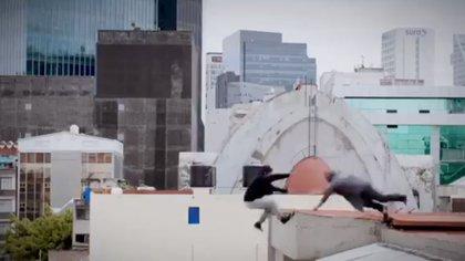 """Una de las escenas de la serie """"Sin miedo a la verdad"""" (Foto: Captura de pantalla)"""