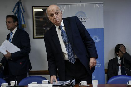 Eduardo Casal en Diputados (Nicolás Stulberg)