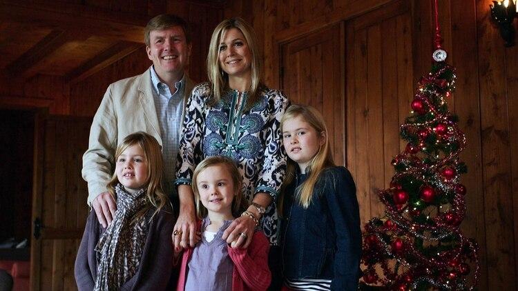 Los reyes de Holanda suelen pasar las fiestas de fin de año en tierra argentina (AFP)
