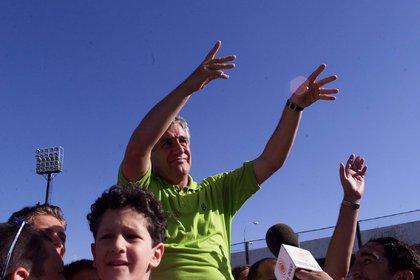Ascendió a Instituto de Córdoba para disputar la temporada 2004 en primera división (FotoBaires)
