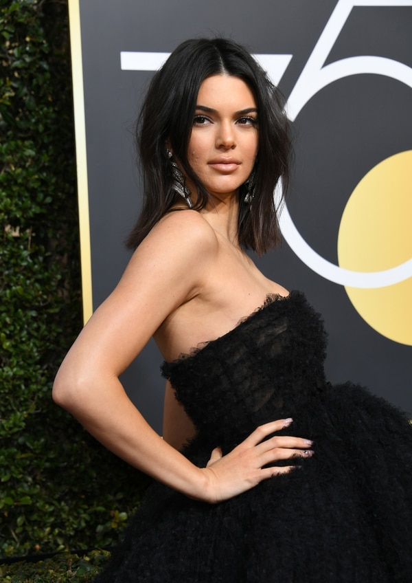 Kendall Jenner  (AFP PHOTO / VALERIE MACON)