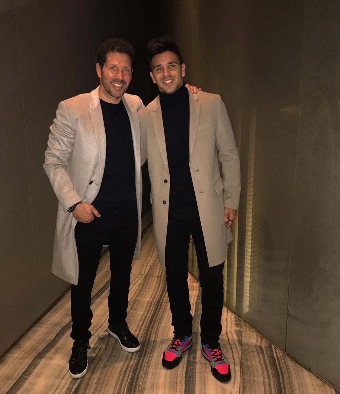Cholo y Gio Simeone