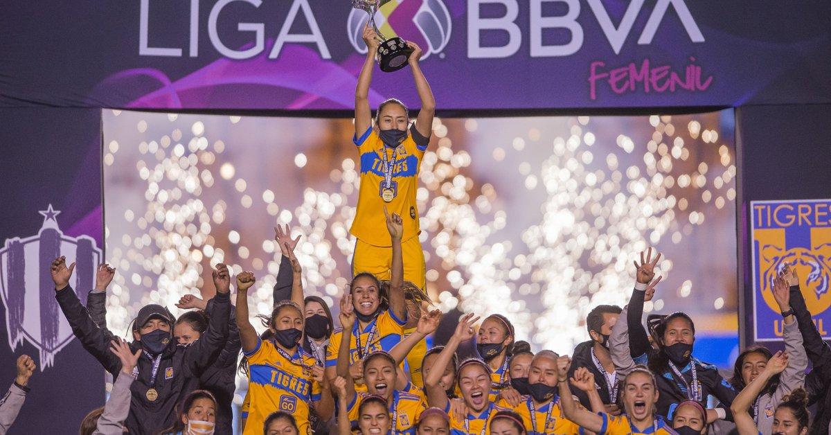Tigras se coronan campeonas de la Liga MX