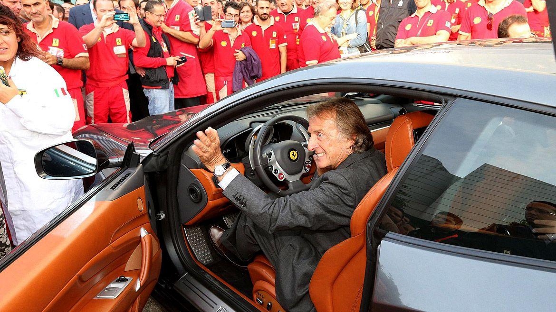 Luca di Montezemolo sostuvo que Sebastian Vettel fue una víctima de una mala dirección técnica (EFE)