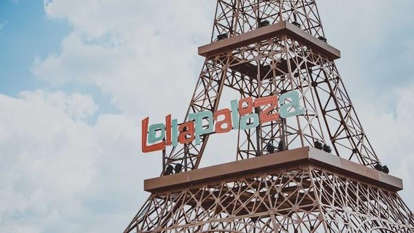 La emblemática Torre Eiffel también fue parte del festival.
