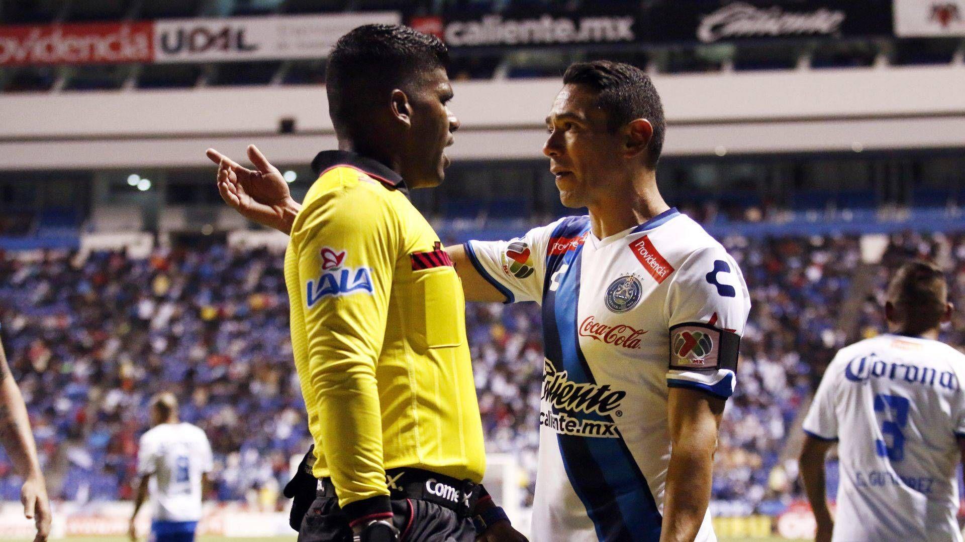 Adalid Maganda, árbitro de la Liga MX (Foto: Cuartoscuro)