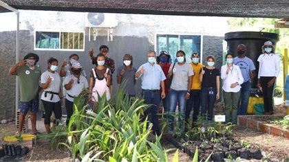 A partir de esta semana entrarán en acción los 'Vigías Forestales Contra Incendios', quienes adelantarán una labor de prevención de quemas en la isla. Foto: MinAmbiente