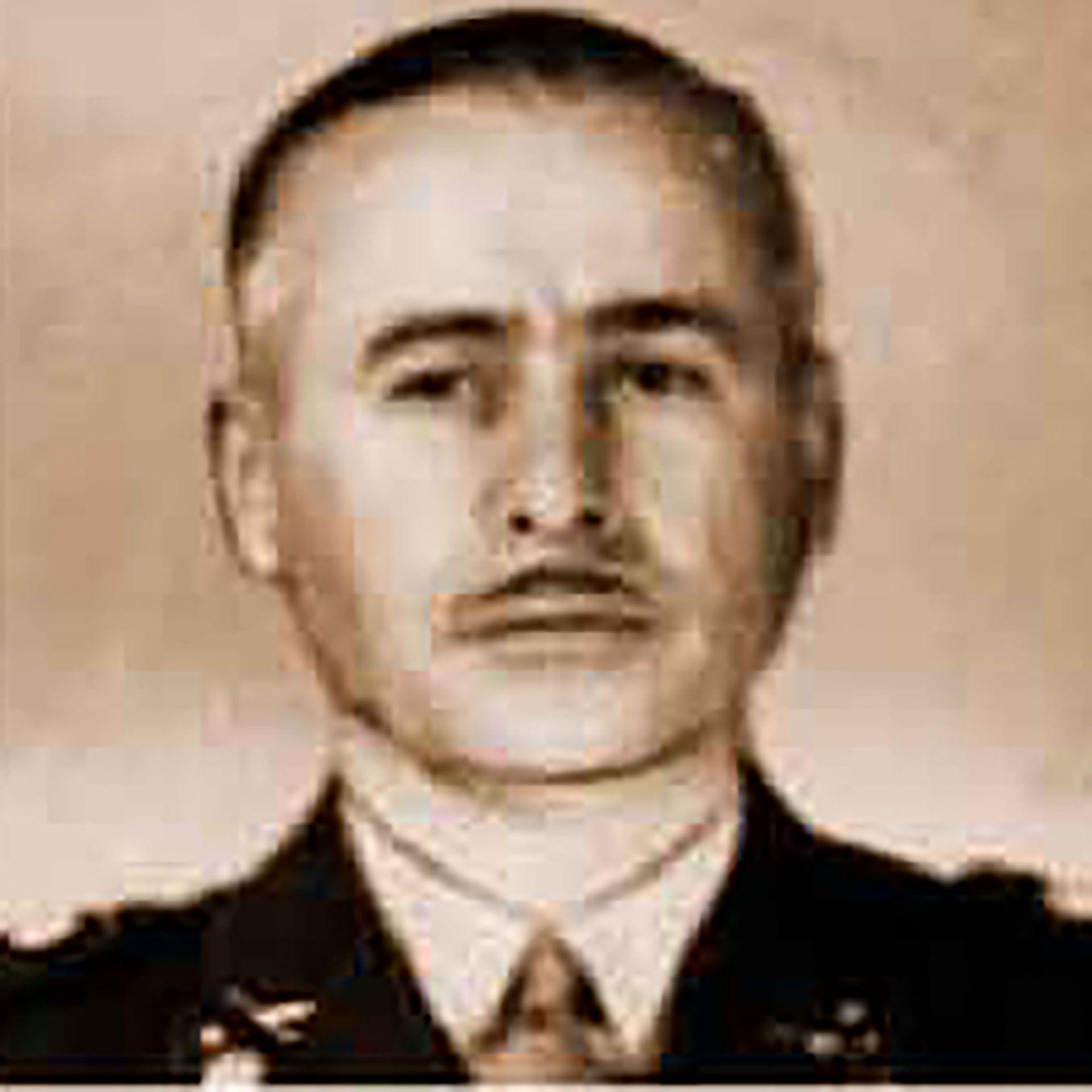 El general Tanco, jefe del levantamiento junto a Valle