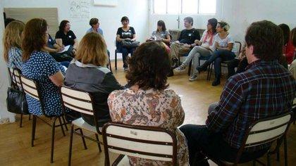 """Imagen de un encuentro de la """"Escuela de Maestros"""""""