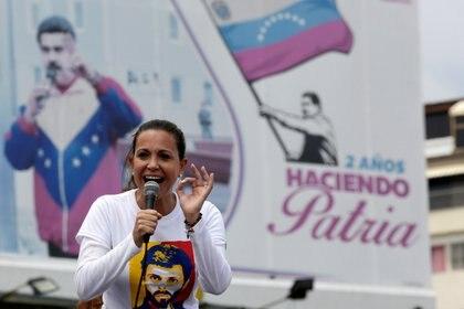 María Corina Machado es la dirigente opositora con mejor imagen(REUTERS/Marco Bello)