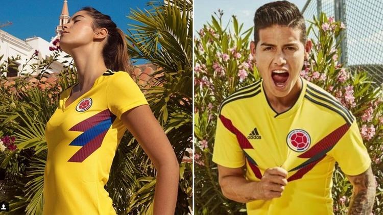 3fcb146b37 Después de ver por completo la presentación de la camiseta oficial que  utilizará Colombia en el Mundial de Rusia 2018