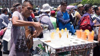 Comerciantes ubicados en la Ciudad de México, son víctimas de extorsiones. FOTO: GRACIELA LÓPEZ /CUARTOSCURO