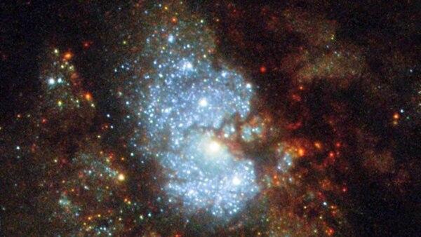 La primera imagen nítida de la galaxia oculta (NASA)