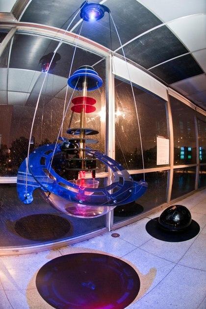 Hidrófono espacial de electrones