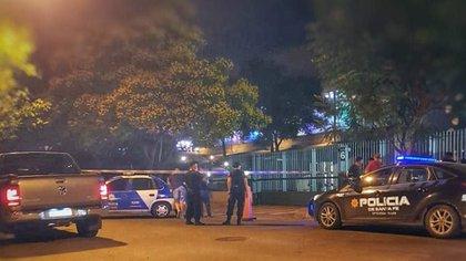 11 de enero: la escena de la balacera al City Center de Rosario.