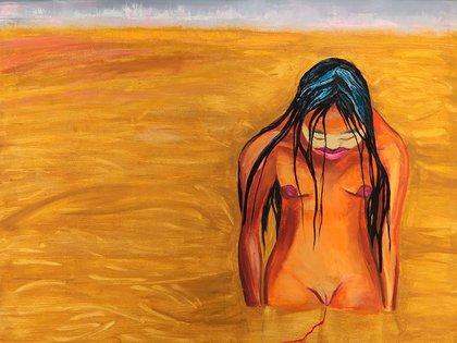 """Marcia Schwartz, """"Acerca del descubrimiento"""", 1991."""