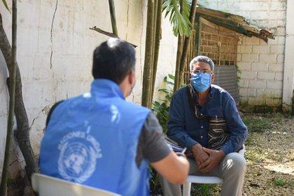 Julián Conrado, alcalde de Turbaco. Foto: Misión de la ONU en Colombia.