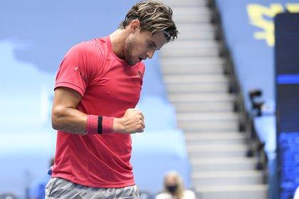 El austriaco había perdido sus tres finales de Grand Slam previas (Danielle Parhizkaran-USA TODAY Sports)