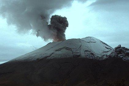 Imágenes del Popocatépetl el 29 de julio a las 06:52 horas de la mañana (Foto: CENAPRED)