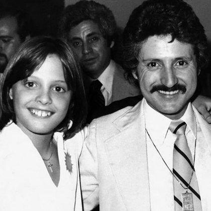 Luis Miguel y su padre, Luisito Rey, en tiempos felices.