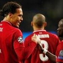 Soccer Football - Champions League Quarter Final Second Leg - FC Porto v Liverpool - Estadio do Dragao, Porto, Portugal - April 17, 2019 Liverpool's Virgil van Dijk celebrates scoring their fourth goal with Sadio Mane Action Images via Reuters/Andrew Boyers