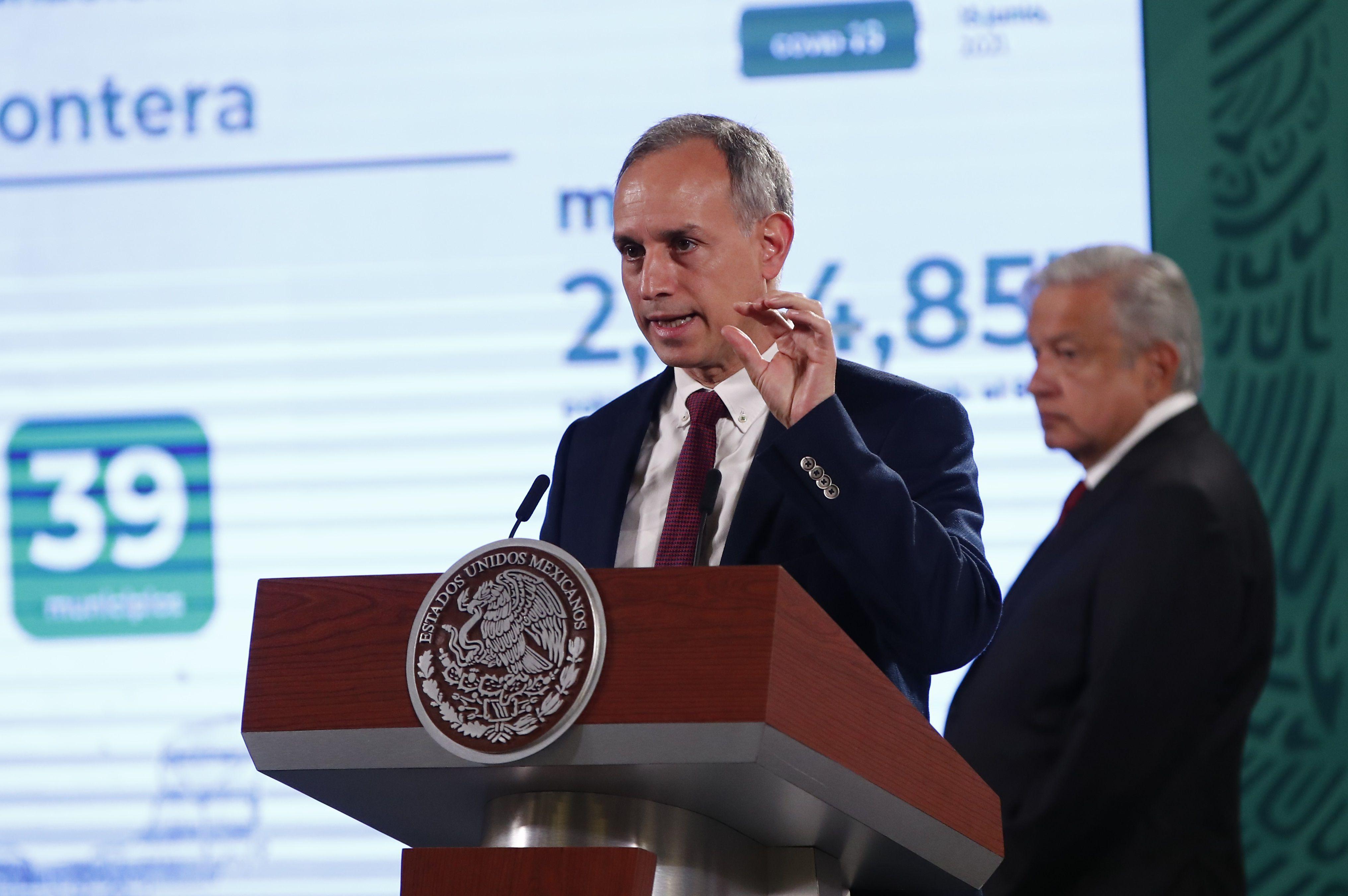 El subsecretario de Prevención y Promoción de la Salud, Hugo López Gatell. EFE/ José Méndez/Archivo