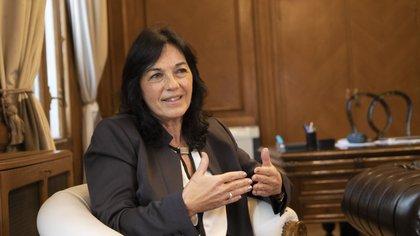 Vilma Ibarra, secretaria Legal y Técnica