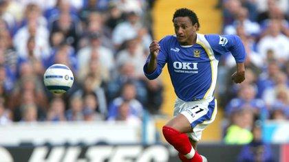 Su último club fue el Portsmouth de la Premier League inglesa (Shutterstock)