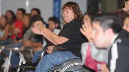 Silvia Carranza es un ejemplo de superación, y hoy ayuda y apoya a personas con discapacidad