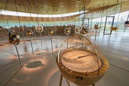 Relojes en exhibición en el museo de Audemars Piguet en Le Brassus, Suiza (Foto: REUTERS/Denis Balibouse)