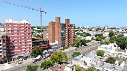 Los proyectos de vivienda promovida, para segmentos sociales medios y medios-bajos, dieron impulso a la construcción en Montevideo