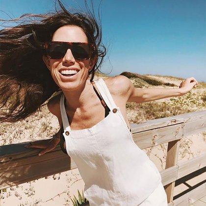 Sofía en plenitud. Tenía una sonrisa hermosa y contagiaba vitalidad.