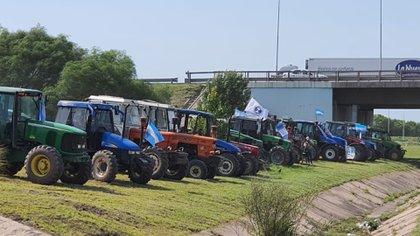 El aumento de los derechos de exportación dio lugar a protestas de productores agropecuarios en Córdoba y otros puntos del país