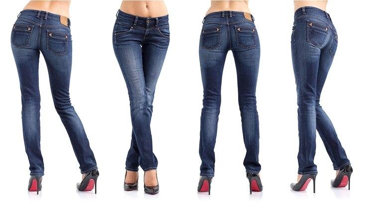 5aea8c304d Qué forma tiene tu cuerpo  Elegí el jean ideal - Infobae