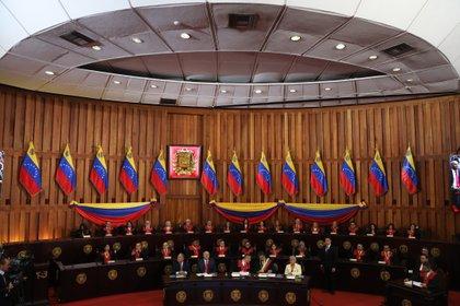 Acto de apertura del Tribunal Supremo de Justicia en Caracas (Venezuela). EFE/ Miguel Gutiérrez/Archivo