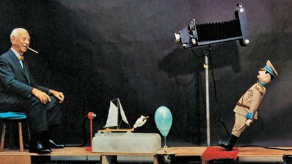Foto de archivo ilustrativa del inventor Rube Goldberg.  May 14, 2020. Rube Goldberg Inc./Handout via REUTERS  ATENCIÓN EDITORES, ESTA IMAGEN FUE PROVISTA POR UNA TERCERA PARTE. PROHIBIDA SU REVENTA O SU USO COMO ARCHIVO.