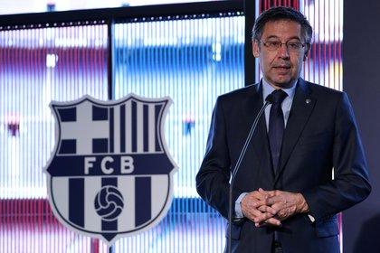 El presidente del Barcelona, Josep Maria Bartomeu. Foto:  REUTERS/Albert Gea/File Photo
