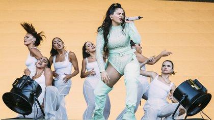 Rosalía dio uno de los shows más intensos y celebrados de Lollapalooza Chicago