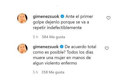 Los comentarios de Susana Giménez sobre el posteo de Natalie Pérez