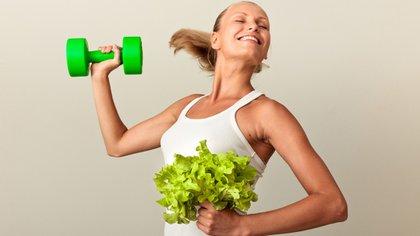 La alimentación previa al ejercicio físico es fundamental (Shutterstock)
