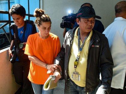 Jennifer Talbot fue sentenciada a cadena perpetua por tráfico de menores (Foto: AFP)