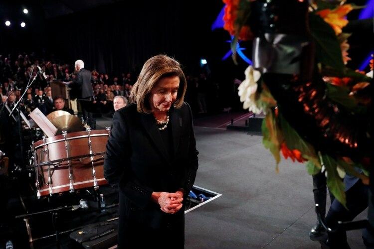 La líder demócrata en la Cámara de Representantes de Estados Unidos, Nancy Pelosi. Foto: Ronen Zvulun/REUTERS