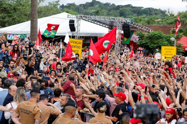 Luiz Inacio Lula da Silva (REUTERS/Rodolfo Buhrer)